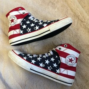 Converse All Star USA Flag Shoes